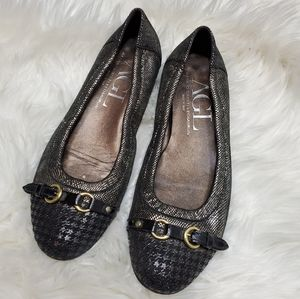 AGL houndstooth  flats